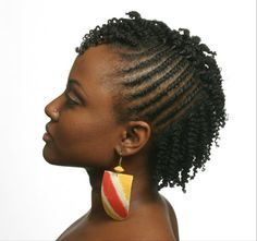 Unique Natural Hairstyles