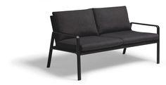 KETTAL PARK LIFE Jasper Morrison - 2-Seater-sofa - Black