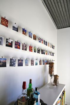 photography gallery instagram wall | home wall decor inspiration / decoration ideas