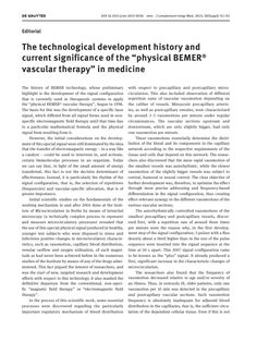 """The technological development history and current significance of the """"physica. The technological development history and current significance of the """"physical BEMER® vascular therapy"""" in medicine : Journal of Complementary and Integrative Medicine Melt Method, Fish Oil Benefits, Nutrition Tracker App, Universal Nutrition, Craniosacral Therapy, Massage Therapy, Natural Medicine, Natural Healing, Physics"""