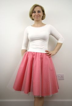A personal favourite from my Etsy shop https://www.etsy.com/listing/522790807/blush-tulle-circle-skirt-summer-skirt