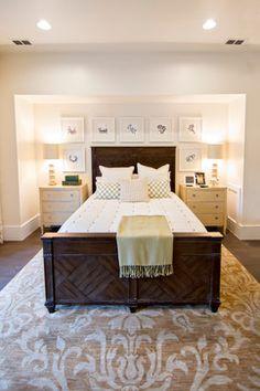 HGTV Smart Home 2013 - tropical - bedroom - jacksonville - Glenn Layton Homes - Non-canopy bed