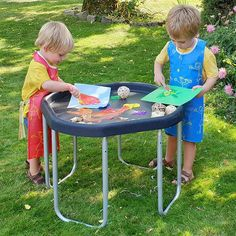 Our new smaller Mini Tuff Tray and Stand is simple to store and can also fit through a standard doorway making it easy to move around quickly.Mini Tuff Tray and Stand,Tuff tray and stand,Toddler Tuff Tray,Children's tuff tray,sensory tuff tray ideas,tuff tray,cheap tuff tray Boy Sleepover, Picnic Blanket, Outdoor Blanket, Tuff Tray, Wooden Spatula, Mud Kitchen, Messy Play, Sand And Water, Learning Environments