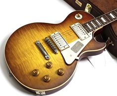2016 Gibson Les Paul 1958 Reissue Standard Historic - Iced Tea VOS