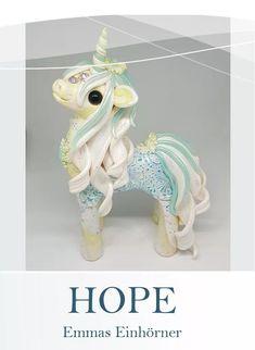 Polymer Clay Unicorns https://www.facebook.com/EmmasWerkstatt/