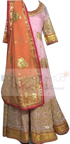 Rich, royal, exquisite and elegant floor length dress. Beautiful attire for the coming season of festives and weddings.