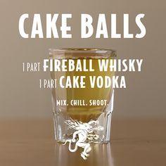 Fireball Shot, Fireball Drinks, Fireball Recipes, Fireball Whiskey, Liquor Drinks, Alcohol Drink Recipes, Alcoholic Drinks, Punch Recipes, Cake Vodka Drinks