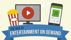 Infographic: the Rise of Entertainment on Demand | AdWeek