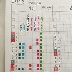 I am very grateful, but inflexible and weak  second year in a #Hobonichi Cousin, I dare say, this is planner peace. This year I've added bullet journaling to it  #planneraddict #plannercommunity #bulletjournal
