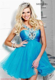 Sherri Hill lol my prom dress but in blue :P still love it!