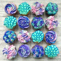 Mermaid Cupcakes!