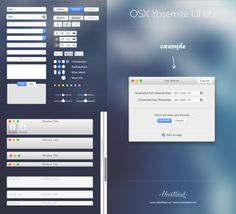 Yosemite-Ui-kit