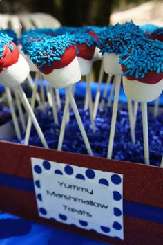 Spiderman Birthday Party Ideas | Photo 1 of 12 | Catch My Party