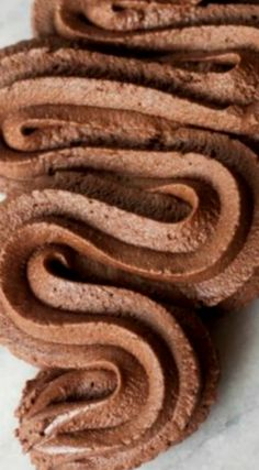 Bakery Style Chocolate Buttercream Frosting ~ Rich chocolate flavor