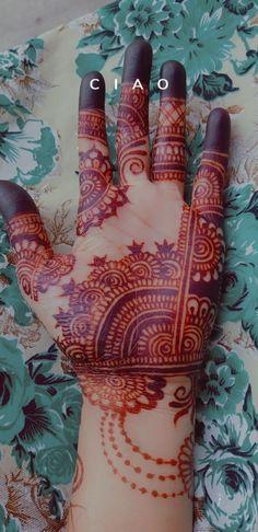 Mehandi Designs, Hand Henna, Hand Tattoos, Simple Designs, Easy, Instagram, Simple Drawings, Mehndi Designs