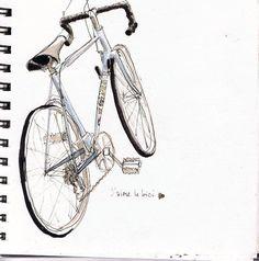 Cool bike drawing