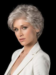 Beauty wig ellen wille the beauty wig by ellen wille is an elegant and soft Short Grey Hair, Short Hair With Layers, Short Hair Cuts For Women, Short Hairstyles For Women, Short Haircuts, Easy Hairstyles, Model Hairstyles, Hairstyle Short, Hairstyle Ideas