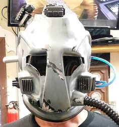 Helmet built for Starz Sci-Fi Movies on Demand