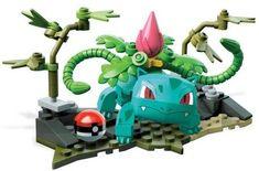 Lego Pokemon, Pokemon Fan, Grass Type, Bowser, Dragon Ball, Vines, Battle, Scene, Lol