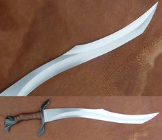 Recurve.....lloooooooovvvveeeeee << looks like an orcish sword from the elder scrolls