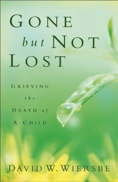 Gone but Not Lost is a thoughtful gift for a family that has experienced the death of a child. Each of its brief chapters covers one element of grieving, bringing readers through sorrow and helping them deal with feelings of anger or guilt, as well as the marital strain that may follow the loss of a beloved child.