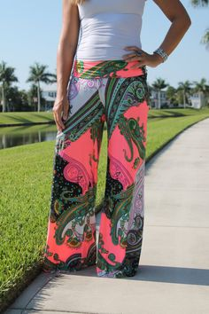 Hey, I found this really awesome Etsy listing at https://www.etsy.com/listing/190106483/palazzo-pants-paisley-printed