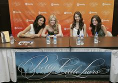 Shay Mitchell, Ashley Benson, Troian Bellisario, and Lucy Hale.