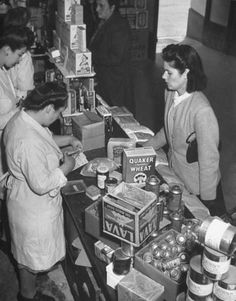 Rationing in Britain 1940s - 1950s