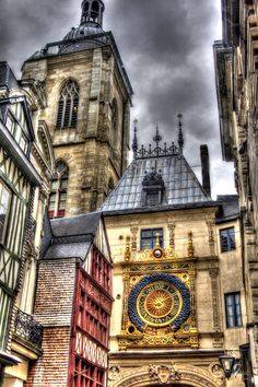 The Grand Horloge in Rouen, France.  (Copyright Virginia Lincoln 2014).