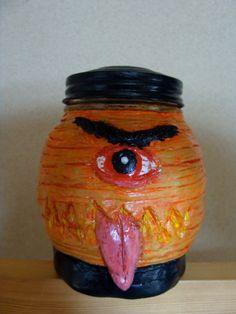 Chouchin-obake Keepsake Holder jar(functional-art sculpture) on Etsy, $30.00