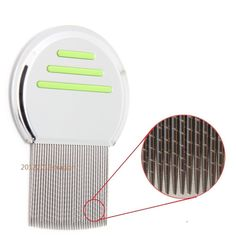 high quality Terminator Lice Comb Nit Free Get Down To Nitty Gritty With Grooved Teeth remove nit brush green Free shipment
