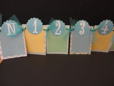 Photo Banner Newborn to 12 Month Boy's 1st Birthday