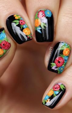 Your own home is your castle, and with a few do-it-by yourself ingenuity you may renovate your home with surprising creative imagination. Karma Nails, Mexican Nails, Nagellack Trends, Floral Nail Art, Latest Nail Art, Luxury Nails, Fabulous Nails, Spring Nails, Toe Nails