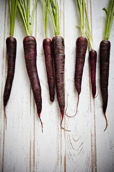 Purple Carrots. By Mowie Kay