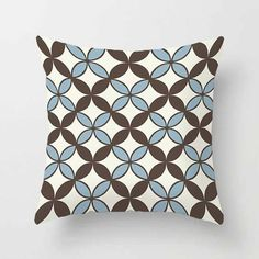 ▲ Order BEFORE December 1 to receive it in time for Christmas ▲ Mix and match pillow covers in dark brown, blue, gray/beige and off white. The price is for one pillow cover. This listing is for pillow cover only. You can purchase insert in your local store or online. ▲ Pillow