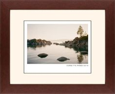 Modern Gallery Framed Print, Brown, Contemporary, Black, Cream, Single piece, 11 x 14 inches, White
