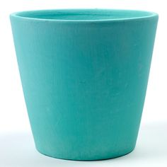 Serax Hand Painted Plant Pot Large Teal: These bold and versatile plant pots will give any house plant and home interior a new lease of life. Hand-painted in bright colours with a textured finish and made with strong terracota. <br />  <br />  Available in Bright Orange, Coral, Fresh Mint, Cool Grey, Deep Blue and Teal.