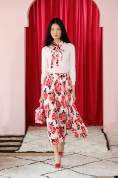 View the complete Kate Spade Spring 2017 collection from New York Fashion Week.
