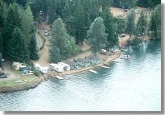 Camping: Lake Cushman Resort