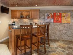 Westerville, Ohio, Basement Remodel - traditional - basement - columbus - Griffey Remodeling