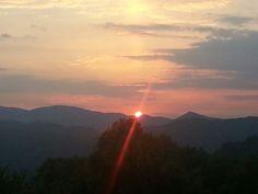 Sunset Blueridge