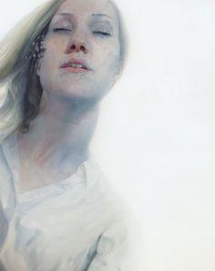 Ледяные картины норвежского художника