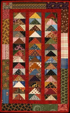 "On Sale....Stacked Geese ""Little Quilt"" Pattern"