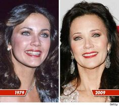 now and then | -  - LYNDA CARTER   'wonder woman'