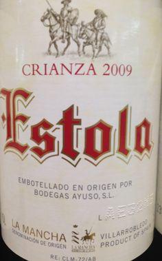 #Vino #Estola. Bodegas Ayuso | #Villarrobledo | Castilla La Mancha