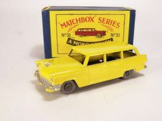 31-A 	Ford Station Wagon Matchbox Cars, My Youth, Train Set, Station Wagon, Ford, Vehicles, Car, Vehicle, Tools