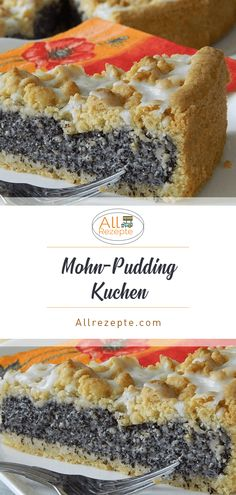 Poppy seed pudding cake - all recipes-Mohn-Pudding-Kuchen – All Rezepte Poppy seed pudding cake – all recipes - Easy Baking For Kids, Baking Recipes For Kids, Easter Recipes, Dessert Simple, Food Cakes, Cake Recipes, Dessert Recipes, Pudding Recipes, Apple Recipes
