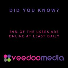 Did You Know? 🤔💬💡 . 89% of the users are online at least daily . 🥇🏆 Digital Marketing Agency Helping Small Businesses Grow Online, Innovate & Transform . 🎯 Digital Marketing 🧩 Consultancy 🛒 eCommerce 🖥 Web Design . 📈 Work With Us to Grow Your Business Online and Get Ahead of Your Competitors . 🔗 www.veedoomedia.com . Follow Us 👉 @veedoomedia 👈 to Get More Valuable Insights into Digital Marketing . . . . . #sem #digitalmarketing #onlinemarketing #internetmarketing #business… Internet Marketing, Online Marketing, Digital Marketing, Ecommerce Web Design, Growing Your Business, Small Businesses, Did You Know, Online Business, Insight