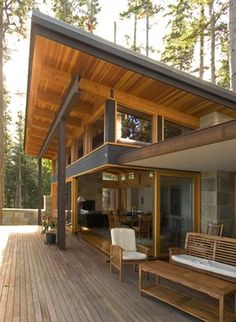 Contemporary Home Facade Design, Pictures, Remodel, Decor and Ideas - page 11