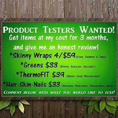 Im looking for product testers. It Works global can help you get your sexy back. Http://bowdaciousbodies.myitworks.com